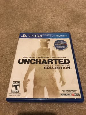 PS4 Uncharted The Nathan Drake Collection for Sale in Redmond, WA