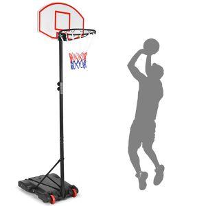 Adjustable Basketball Hoop System Stand Kid Indoor Outdoor Net Goal W/ Wheels Sp34956 for Sale in City of Industry, CA