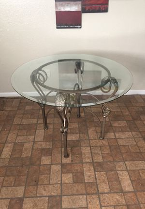 Glass Kitchen table for Sale in Hapeville, GA