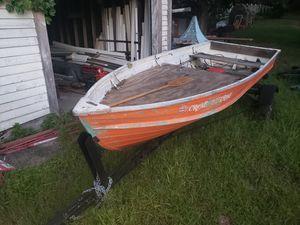 Aluminum boat for Sale in Blackstone, MA