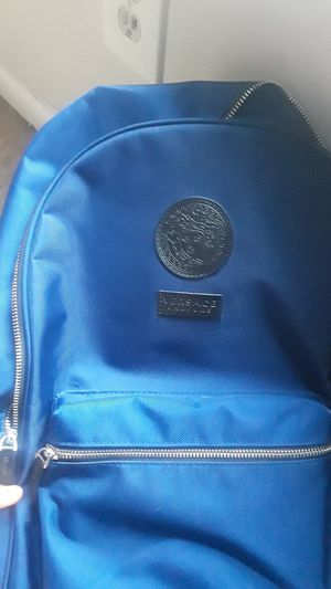 Blue Versace bag for da low !! for Sale in Germantown, MD
