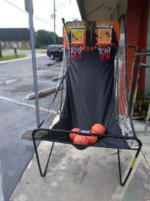 Double basketball hoop for Sale in Saint Petersburg, FL