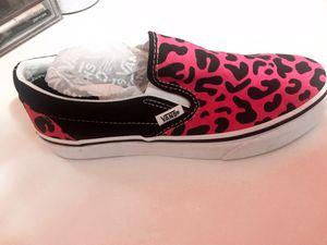 Pink Leopard Vans Women's Size 6.5 for Sale in Queens, NY
