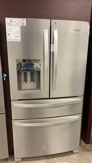New French Door Refrigerator with Extra Fridge Drawer !! for Sale in Gilbert, AZ