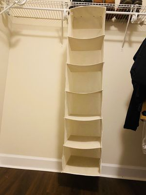 Closet organizer! Excellent condition! for Sale in Alexandria, VA