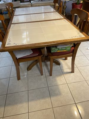 Kitchen Table with 4 Chairs for Sale in Beltsville, MD
