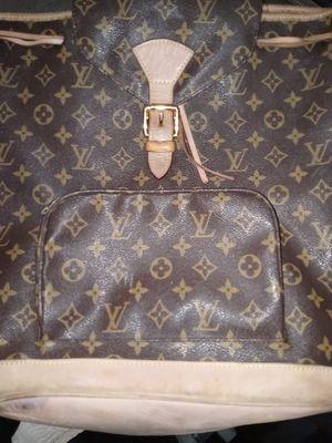 Original monogram Louis Vuitton backpack for Sale in Garden Grove, CA