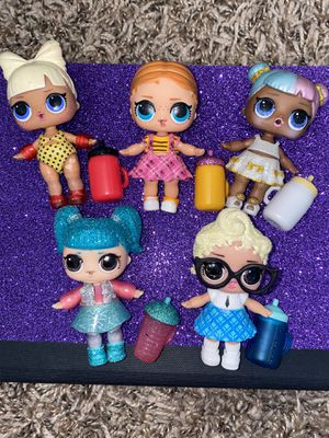 Lol dolls lot of 5 for Sale in Gresham, OR