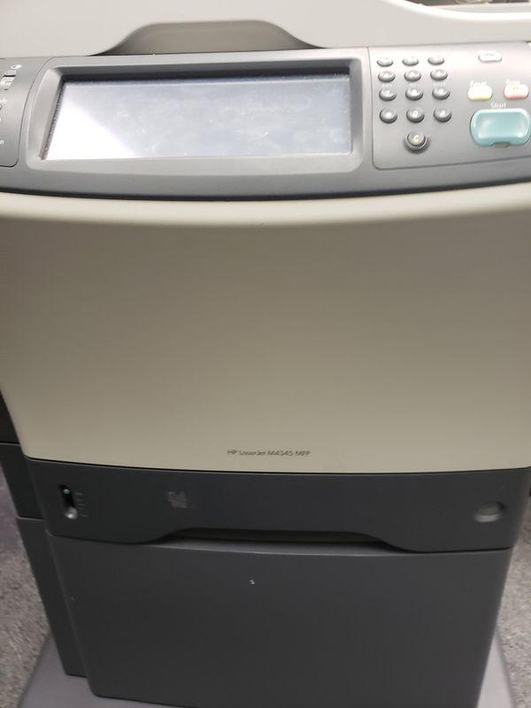 HP LaserJet M4345 MFP