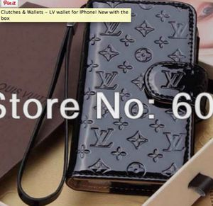 Black Louis Vitton Wallet for IPhones 4,5 for Sale in Falls Church, VA