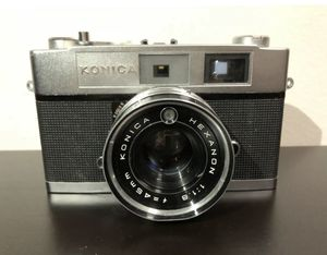 Konica Auto S2 35mm Film Camera w/ Hexanon F:1.8 45mm Lenswith Case Untested for Sale in Brooklyn, NY