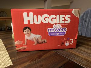 Huggies diapers size 3 for Sale in Federal Way, WA