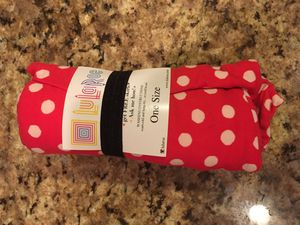 Lularoe Leggings Red & White Polka Dots One Size OS Halloween for Sale in Centreville, VA