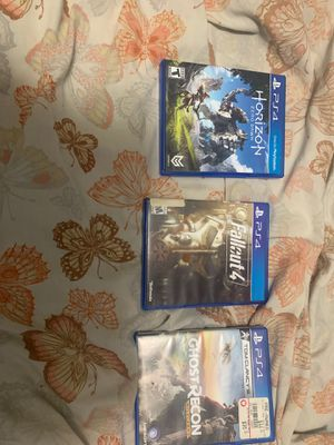 ps4 games for Sale in Houston, TX