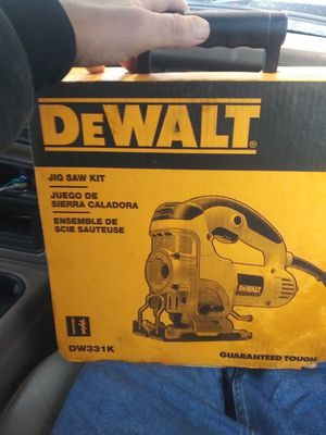 Dewalt jigsaw kit and 18volt ryobi chainsaw for Sale in Austin, TX