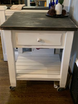 Kitchen Island / crate and barrel / pier one for Sale in Malden, MA