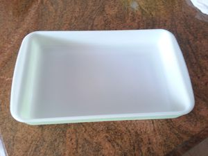 Vintage pyrex cooking dish color yellow and white for Sale in LAKE CLARKE, FL