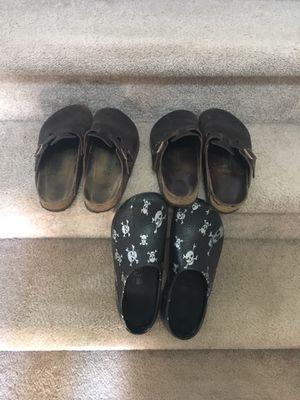 3 pairs of older Birkenstocks 10 & 11 for Sale in Cumming, GA