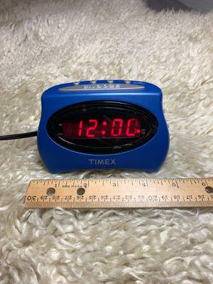 Office or bedroom accessory: Lucky blue alarm clock for Sale in Sun City, AZ
