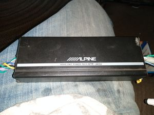 Alpine ktp-445u micro amplifier for Sale in Modesto, CA