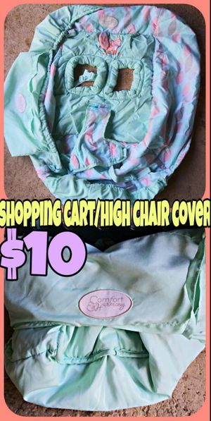 Shopping cart/High chair cover for Sale in Spring Hill, FL