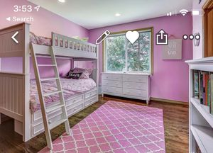 Twin Bunk Bed with Storage for Sale in Woodinville, WA