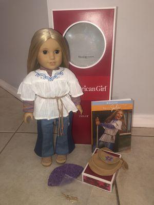 American girl doll JULIE for Sale in Miramar, FL