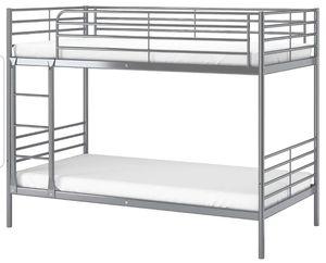 Svarta Ikea Twin Metal Bunk Bed for Sale in Kirkland, WA
