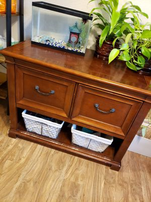 Solid wood filing cabinet for Sale in Bellevue, WA
