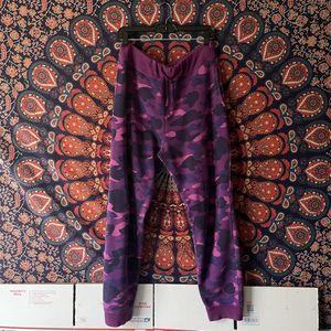 Bape Camo Sweatpants Men's Large W 34 for Sale in Santa Rosa, CA