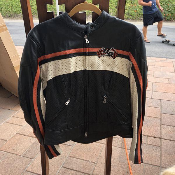 Women's vintage motorcycle jacket