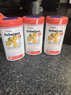 Pet itch wipes for Sale in Winter Garden, FL