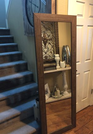 Large floor or wall mirror price firm pick up only for Sale in Reedley, CA