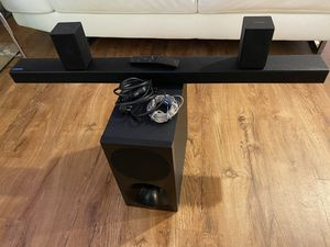 Soundbar and wireless subwoofer for Sale in Alexandria, VA