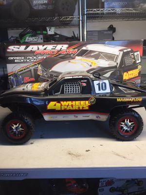 Traxxas Slayer pro 4x4 Nitro. RC stadium truck for Sale in Aptos, CA