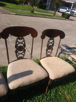 Chairs 4 for Sale in Houston, TX