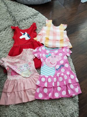 3T Toddler Girls Spring Summer Dresses Top 4 Pieces for Sale in Los Angeles, CA
