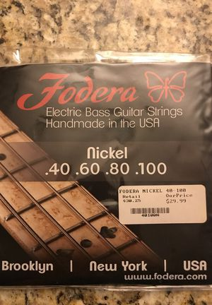 Folders Electric Bass Guitar Strings for Sale in Fort Washington, MD