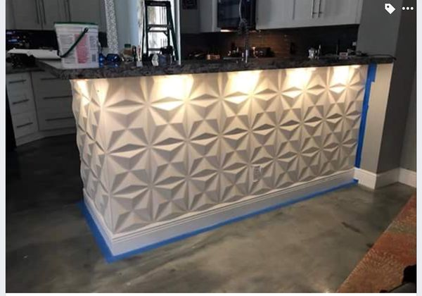 White Island kitchen wall home decor