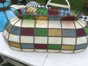 Pool table light stained glass for Sale in Jeannette, PA