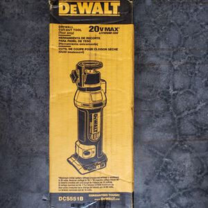 Dewalt 20 volt drywall cutout tool brand new tool only for Sale in Federal Way, WA