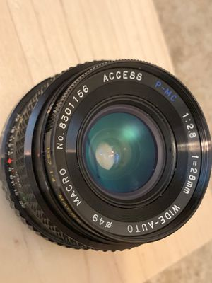 Vintage Camera Lens - 28mm 1:2.8 for Sale in San Diego, CA
