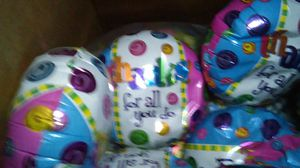 Happy birthday balloons 7in you get 20 balloons for $10 for Sale in St. Louis, MO