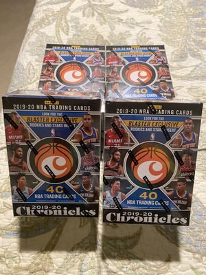 NBA CHRONICLES 2019-2020 for Sale in Silver Spring, MD