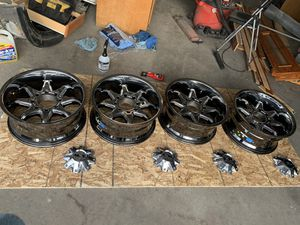 20x9 rims great condition for Sale in Westminster, CO