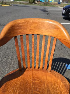 Antique B.L. Marble Chair Company desk chair for Sale in Chantilly, VA
