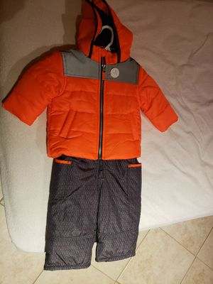 Carter's 12 month 2 piece coat and snow bib set for Sale in WILOUGHBY HLS, OH