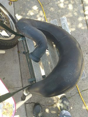 Dirt bike exhaust fatty pipe for Sale in National City, CA