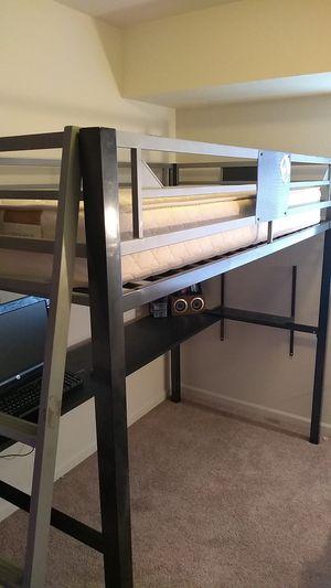 Loft Bed & Mattress for Sale in Bath Township, MI