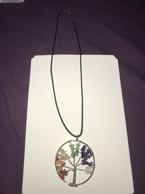 Tree of life Crystal bead necklace for Sale in Perris, CA